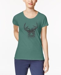 Columbia Jack'd Up Graphic T Shirt Dusty Green