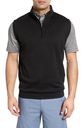 Peter Millar Men's Quarter Zip Vest