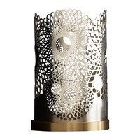 Skultuna Feather Candle Holder Silver