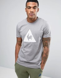 Le Coq Sportif Grey T Shirt With Large Logo In Grey 1711092 Grey
