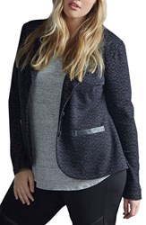Tart Plus Size Women's Print Two Button Blazer