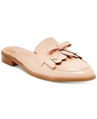 Madden Girl Aavaa Slide Flats Women's Shoes Nude Patent