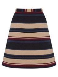 Oasis Stripe Hattie Mini Skirt Multi