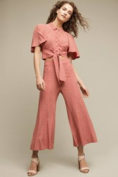 Anthropologie Canna Wide Legs Rose