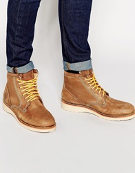 Superdry Stirling Boots Tan