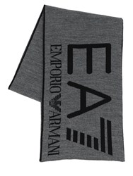 Emporio Armani Train Visibility Scarf Grey