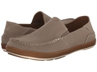 Olukai Puhalu Canvas Clay Toffee Men's Shoes Gray
