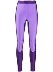 Ambush Contrast Leggings Purple