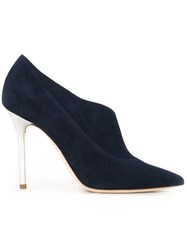 Malone Souliers 'Crystal' Pumps Blue