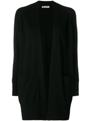Vince Loose Knitted Cardigan Black