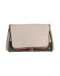 Manila Grace Denim Handbags Light Grey