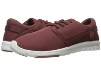 Etnies Scout W Burgundy Tan White Women's Skate Shoes