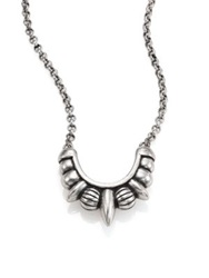 Pamela Love Small Tribal Necklace Silver