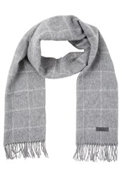 Jack And Jones Jacwindow Scarf Dark Grey Melange Mottled Dark Grey