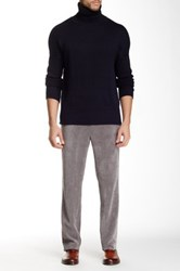 Louis Raphael Cord Tailored Modern Fit Pant Gray