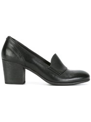 Pantanetti Block Heel Pumps Black