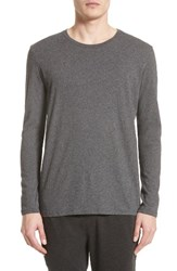 Atm Anthony Thomas Melillo Men's Cotton Crewneck Charcoal
