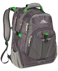 High Sierra Xbt Checkpoint Friendly Laptop Backpack In Gray Multi