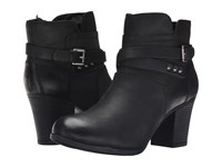 Rockport City Casuals Catriona Buckle Bootie Black Nubuck Women's Boots