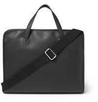 Connolly Full Grain Leather Briefcase Black