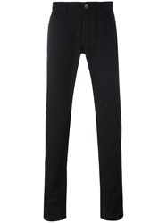 Dolce And Gabbana Car Palm Patch Jeans Black