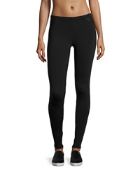 Solow Mesh Cutout Leggings Black