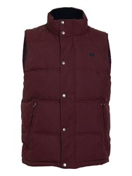 Raging Bull Big And Tall Signature Gilet Claret