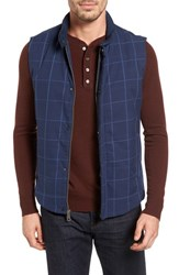 Lanai Collection Men's 'Navigator' Windowpane Quilted Down Vest