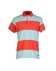 Scotch And Soda Topwear Polo Shirts Men Red