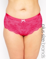 Marie Meili Curves Sofia Hipster Brief Boldpink