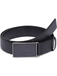 Prada Saffiano Leather Belt Black