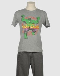 Brian Dales Topwear Short Sleeve T Shirts Men Deep Jade