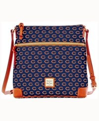 Dooney And Bourke Chicago Bears Crossbody Purse Navy