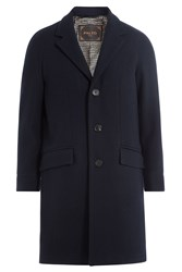 Palto Coat With Wool Blue