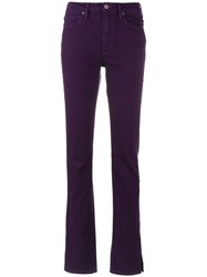 Simon Miller Bootcut Jeans Pink And Purple