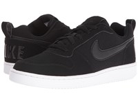 Nike Recreation Low Black Black White Women's Lace Up Casual Shoes
