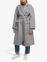 French Connection Agatima Belted Coat Grey