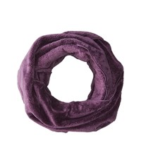 The North Face Denali Thermal Scarf Black Plum Dark Eggplant Purple Scarves