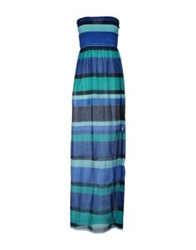 Mary Jane Long Dresses Blue