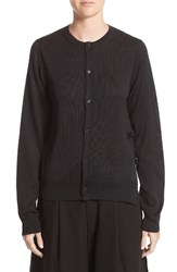 Noir Kei Ninomiya Women's Silk Knit Button Cardigan