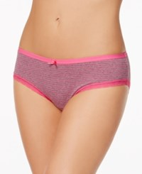 By Jennifer Moore Hipster Only At Macy's Grey Pink Mini Stripe