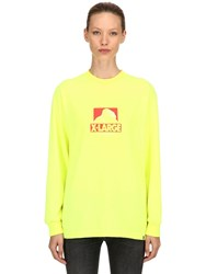 Xlarge Og Printed Long Sleeve Jersey T Shirt Yellow
