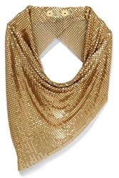 Paco Rabanne Chainmail Scarf Gold