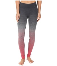 Brooks Streaker Tights Poppy Asphalt Women's Casual Pants Pink