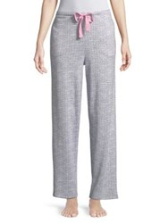 Roudelain Printed Pajama Pants Grey