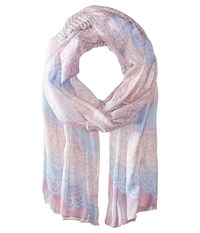 Prana Lacey Scarf Dusted Blue Scarves