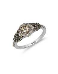 Le Vian 14K White Gold And Diamond Ring Silver