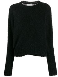 3.1 Phillip Lim Textured Straight Jumper Black