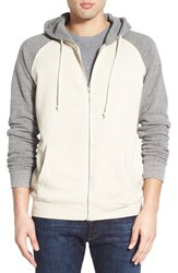 Threads For Thought Men's Raglan Hoodie