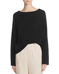 Vince Cashmere Slouch Sweater Black